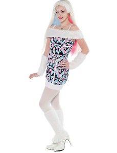 NEU   Girls Monster High Deluxe Abbey Bominable Kostüm mit PERÜCKE