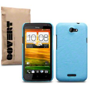 Covert Branded PU Leather Back Cover Case For HTC One X Leopard