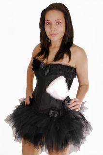 sexy Zimmermädchen Hausmädchen Kostüm Karneval Halloween
