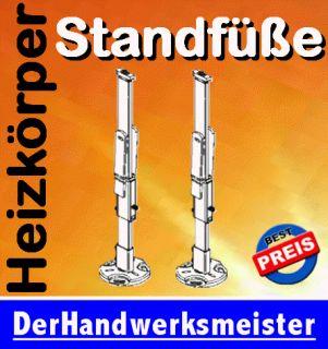 Buderus Heizkörper Standfüße /Halterung Bauh. 300   900