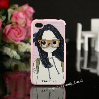 Apple iPhone 4 / 4S Hard Case Happymori Schutzhülle Hülle Etui 3D
