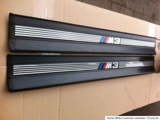 BMW E36 M3 Einsiegsleisen Limousine ouring schwarz