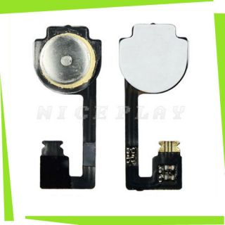 New Replacement Home Menu Button Flex Ribbon Cable Key Repair For