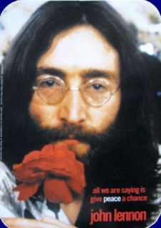 John Lennon The Beatles Aufkleber Sticker Peace