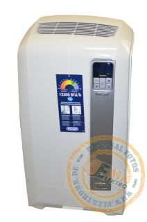 DELONGHI PAC WE 125 *WEISS GRAU* WE125 Klimagerät Luftkühlung