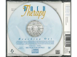 QUEEN   ROCK THERAPY (FEAT. BRIAN MAY)  CD SINGLE   REACHING OUT