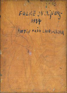 FOLKE W. LJUNG (1900–1949) »LANDSKRONA IN SCHWEDEN · 1934