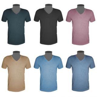 Hugo Boss Orange Label T Shirt unifarben Herren V Neck 6 Farben