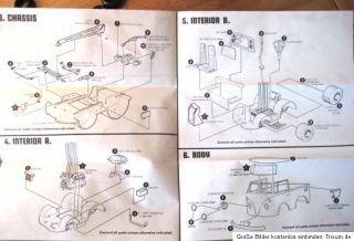 Revell Herbie ein toller Käfer Love Bug Walt Disney VW Bausatz OVP
