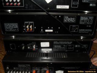 Technics Anlage Verstärker SU A800 MK2, Tuner, CD, EQ, Kassette TOP