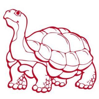 E009 Schildkröte Turtle Aufkleber Tier Sticker Motiv Tattoo