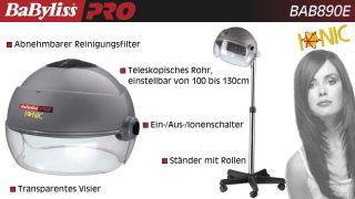 ®PRO Professionelle Trockenhaube BAB 890 E mit Ionen Technologie
