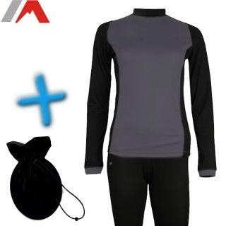 4F Damen Funktionsuterwäsche Set Skiunterwäsche langarm Shirt