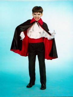 VAMPIRUMHANG Kostüm Vampir Graf Dracula Umhang Kinder Gr. 164