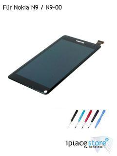 Original Nokia N9 / N9 00 LCD Display Touchscreen Glas Komplett