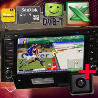 VW T5 MULTIVAN TOUAREG 7 HD DVD GPS RADIO PIP DVB T CAN BUS Dual Zone