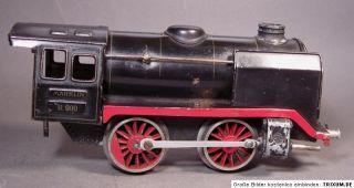 MÄRKLIN R 900 Dampflok mit Tender Uhrwerk 1938 40