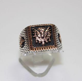Silber,925,Herrenring,Ring,Osmanli,Tugra,Sultan,Silberschmuck