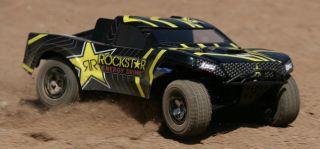 Losi Mini Rockstar SCT 116 RTR RC Auto Truck mit Sender (LOSB0209) CJ