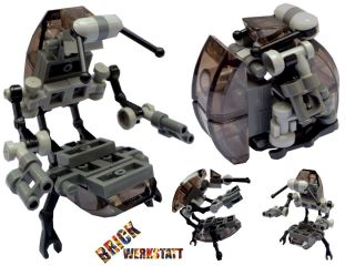 LEGO® STAR WARS™ Figur Custom Droideka Droidika Destroyer Battle