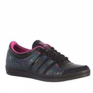 Adidas Top Ten Low Sleek [37, Uk 4] Schwarz Fuchsienfarbig Schuhe