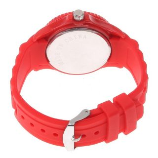 Classic Stylish Silicon Jelly Strap Unisex Wrist Watch 13 Colors