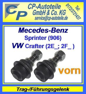 vorn Mercedes Benz Sprinter (906) VW Crafter (2E) (2F)
