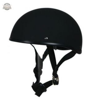 Chopper Harley Retro Helm BrainCap Cup B metallic black