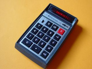Pocket Calculator History   Bowmar 901B The Brain   FIRST US BUILT