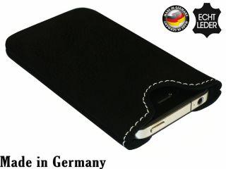 Nokia Lumia 920 Leder Tasche schwarz Handytasche Case Hülle Cover