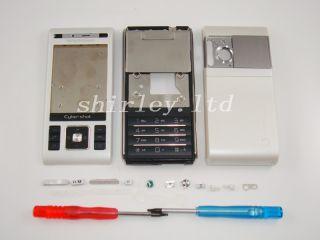 Weiß Neu Sony Ericsson C905 Gehäuse Tastatur Cover