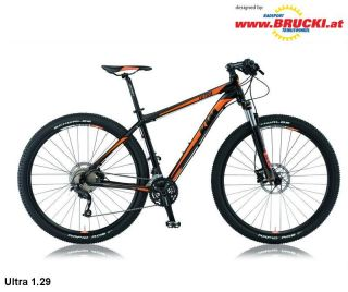 KTM , MTB, ULTRA 1.29, schwarz orange, Mod. 12, RH 48