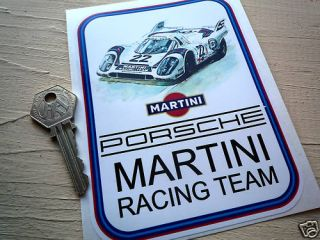 MARTINI PORSCHE SPORTS RACING CAR stickers 907 917 etc