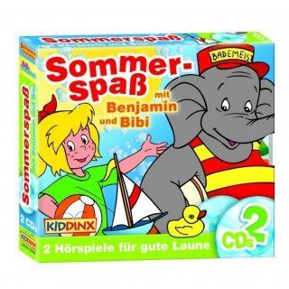Benjamin Blümchen CD Doppel Box Sommerspaß Box 2er Box 2 x CDs Bibi
