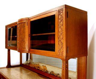 Koloman Moser huge credenza cabinet Buffet art nouveau Jugendstil