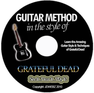 Grateful Dead Guitar Tab Software Lesson CD + BONUSES