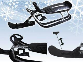 Stiga Snow Racer Lenkschlitten   Schlitten Skibob Lenkbob Bob Rodel