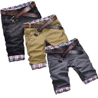 Herren Bermuda Gargo Shorts Kurze Hose Short Chino Hose XS/S/M/L