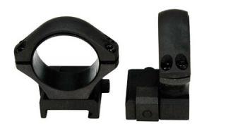 Sako Optilock Ring Set 30mm Low Fits Picatinny rail Phosphate S180F918