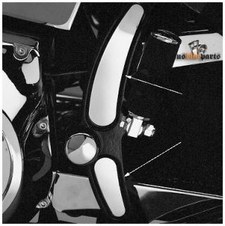 Rahmencover für Harley Davidson Softail in Chrom