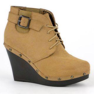 Damen Schuhe 91136 Keilabsatz Stiefelette Größen 36 41