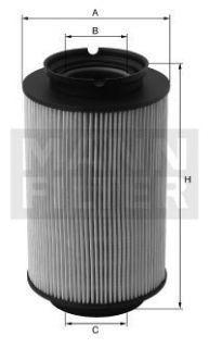 MANN Filter Kraftstoff Filter Dieselfilter PU 936/2 X
