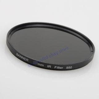 52mm IR Filter Infrared Infra Red 950nm IR Pass filter