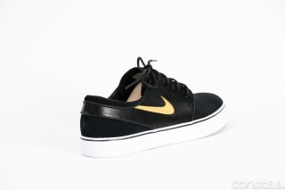 Nike SB Schuhe Stefan Janoski black/metallic gold Gr 41 bis 47,5