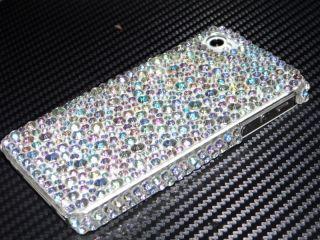 iPhone 5 STraSS BlinG COVER hard CASE HÜLLE tasche schale glitzer AB