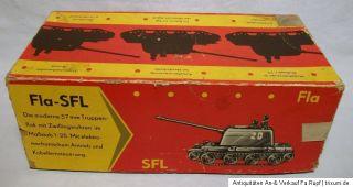 Orig.DDR*Anker Panzer Doppelflak Fla SFL Bakeli Anker Eisfeld OVP um
