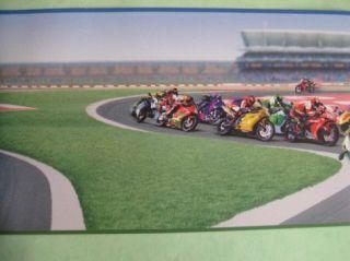 Rasch Kids Club 125801 Bordüre Kinder Tapete Motorrad