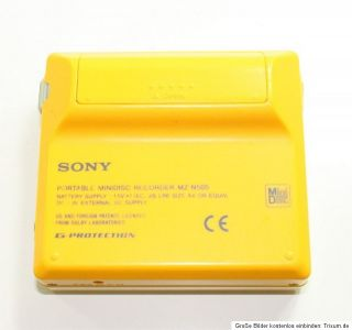 Sony MiniDisc Recorder MZ N505 player Walkman MZ N505