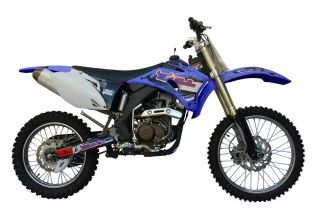 MTX250YA Cross Dirt Bike Enduro 250cc 4Takt Blau Neu