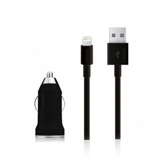 KFZ Auto USB Adapter Lightning iPhone 5 Datenkabel Ladekabel